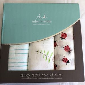ADEN + ANAIS Lucky Field Silky Soft Swaddles